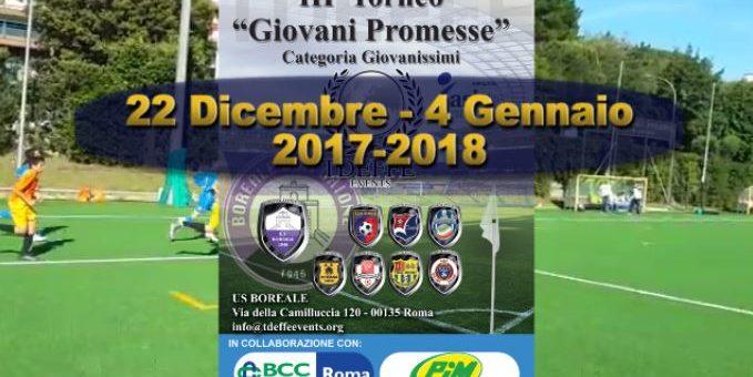 Giovanissimi: III' Torneo Giovani Promesse – Il Video Promo del Torneo –