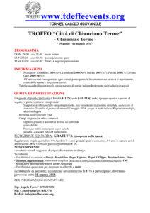 Trofeo di Chianciano
