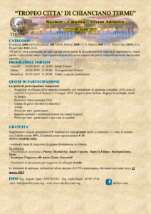 Torneo Chianciano Terme