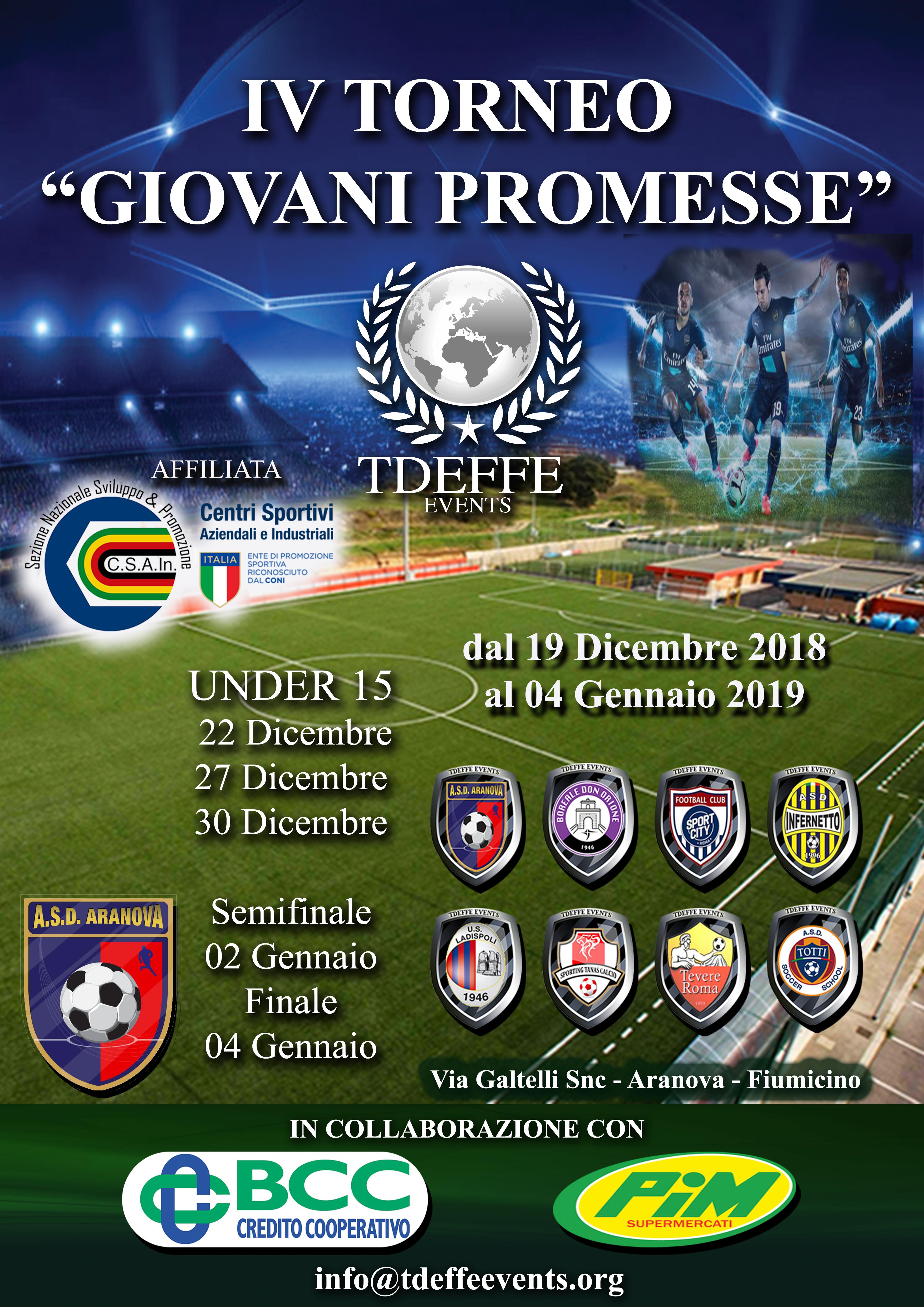 IV Giovani Promesse
