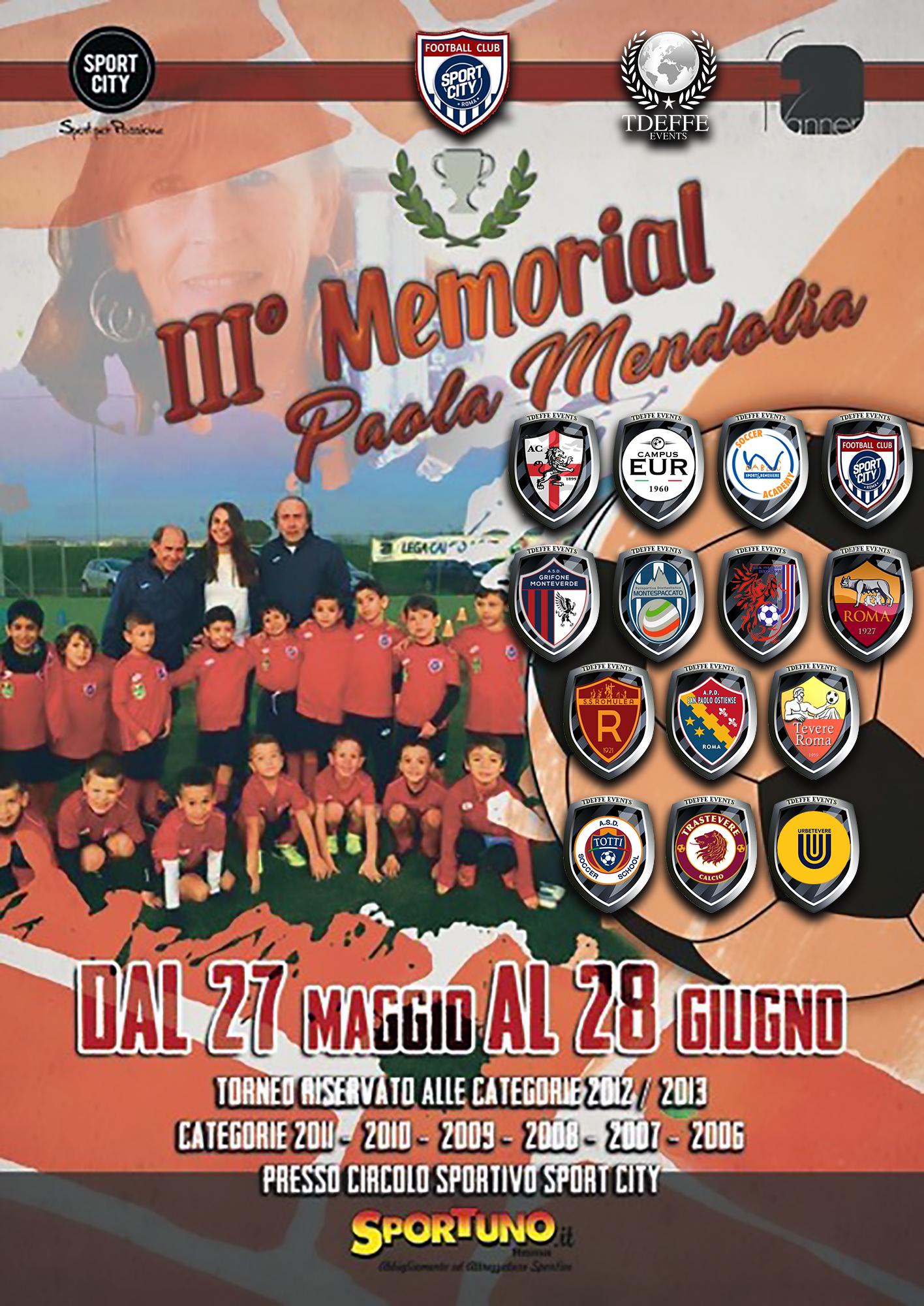 III' Memorial Mendolia