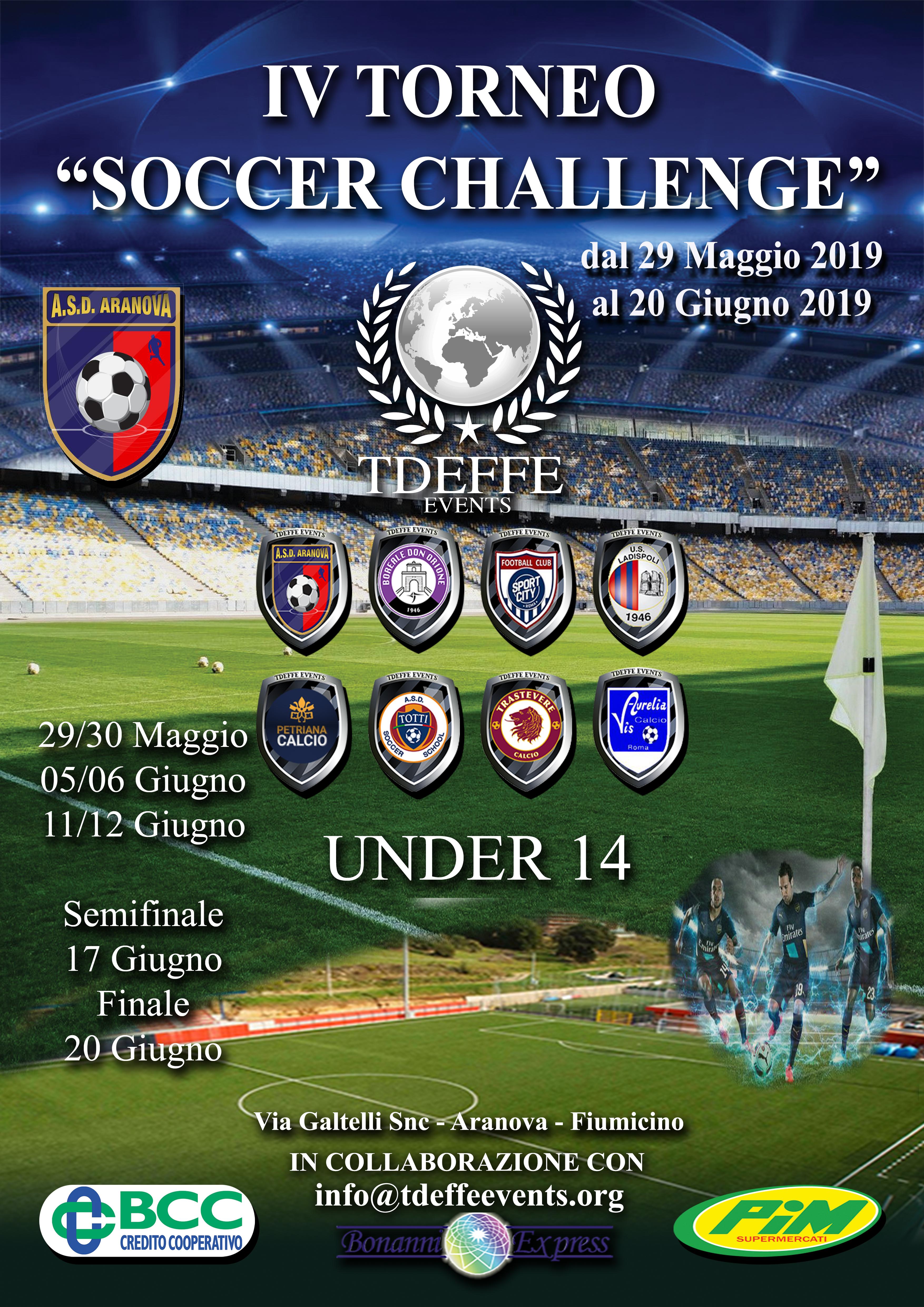IV Soccer Challenge